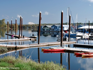 Image, 2016, Marina at Scappoose Bay, Oregon, click to enlarge