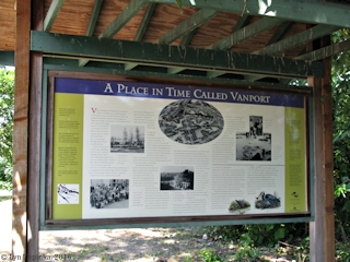 Image, 2016, Vanport info sign, Force Lake, click to enlarge