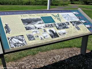 Image, 2016, Vanport info sign, Heron Lakes, click to enlarge
