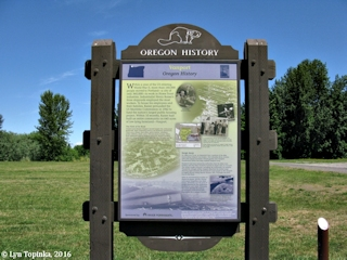 Image, 2016, Vanport, Oregon History sign, click to enlarge