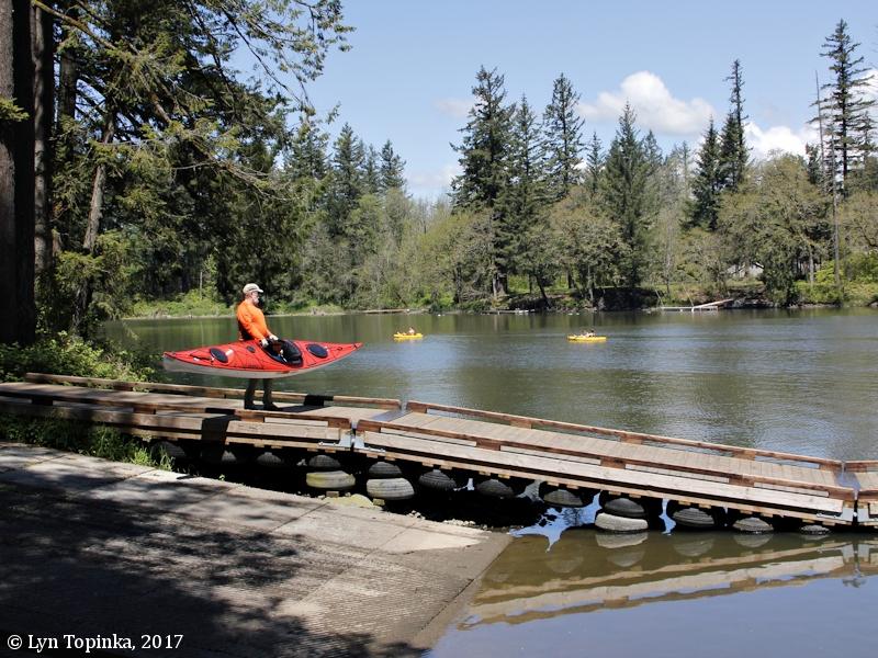 The Columbia River - Lacamas Lake, Round Lake, and Lacamas