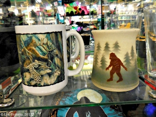 Image, 2017, Sasquatch, Portland International Airport, Oregon, click to enlarge
