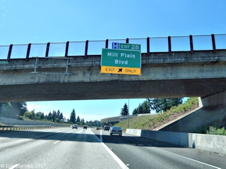 Image, 2017, Mill Plain exit off I-205, Vancouver, Washington, click to enlarge