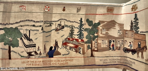 Image, 2017, Vancouver Tapestry, Vancouver, Washington, click to enlarge