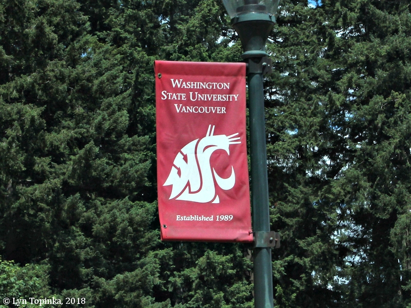 The Columbia River Wsu Vancouver Campus