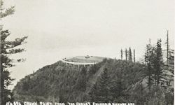 Penny Postcard, Crown Point from Crown Point Chalet, click to enlarge